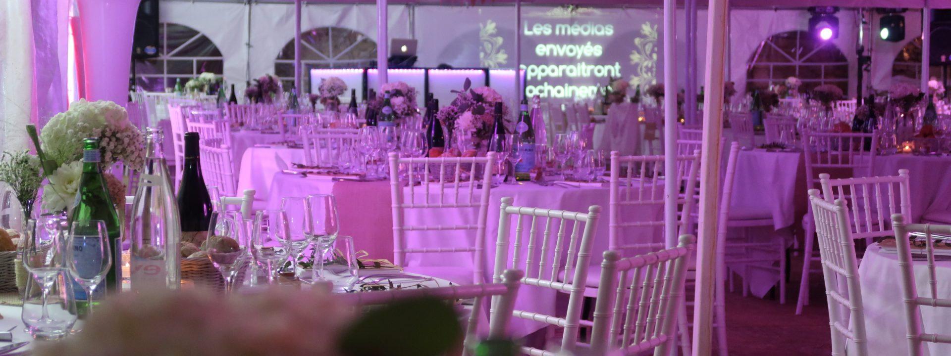 château pechrigal, cahors evenement, dj cahors, illumination, mise en lumière,mariage, réception, dj